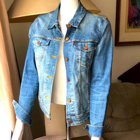 Levi's Vintage Style Trucker Denim Jacket - Size M